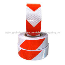 Twill and Arrow Design Tape for Traffic Road of Reflective Material